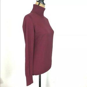 Banana Republic Sweaters - Banana Republic M Turtleneck Sweater Silk Bl NICE